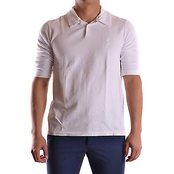 Incotex Ezbc093012 Men's White Cotton Polo Shirt