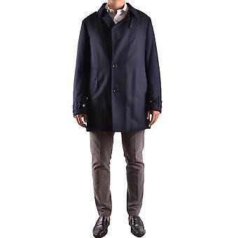 Allegri Ezbc097005 Men's Blue Wool Outerwear Jacket