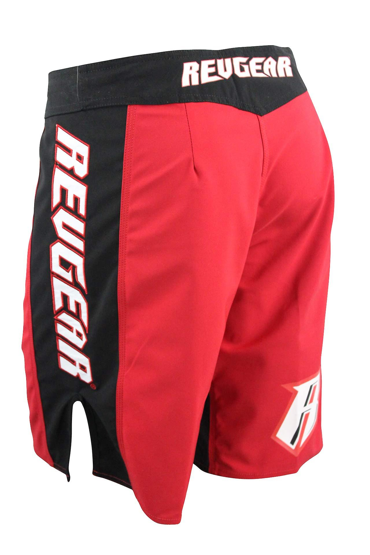 Revgear Mens Spartan Pro III Fight Shorts - Red