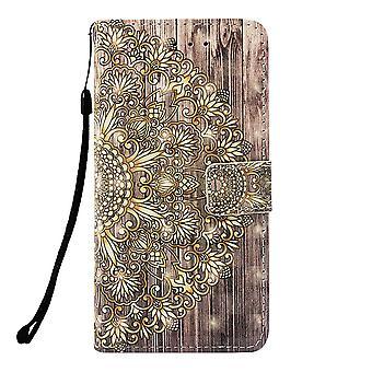 Samsung Galaxy S10 Wallet Case-bloemmotief