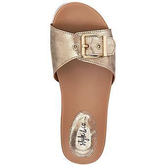 Stil & Co. Womens Vivvie öppen tå Casual Slide sandaler