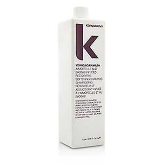 Young.again.wash (immortelle And Baobab Infused Restorative Softening Shampoo - To Dry Brittle Hair) - 1000ml/33.6oz