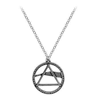 Alchemy Rocks Pink Floyd Dark Side Pewter Pendant