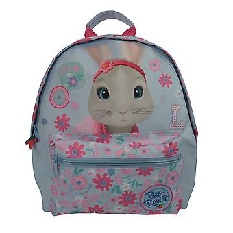 Peter Rabbit Lily Bobtail Pink Flower Baby Blue Children's Roxy Backpack