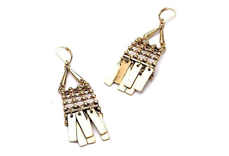 Bohemian Tribal Byzantine Cleopatra's Best Dangle Drop Earrings