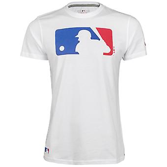 New Era Basic Shirt - MLB LOGO Baseball weiß