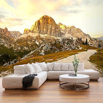 Fotobehang - Beautiful Dolomites