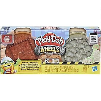 Play-Doh Wheels, Bulidin composto-Tijolo e Pedra