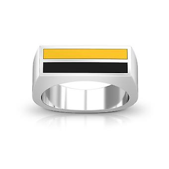 California State U-Long Beach Ring In Sterling Silver Design by BIXLER
