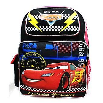 Backpack - Disney Cars - Lightning McQueen Black New A08495