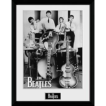 Instrument som Beatles inramade Collector Print 40x30cm