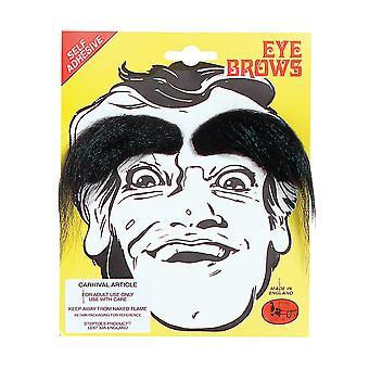 Bristol Novelty Unisex Adults Bushy Eyebrows (1 Pair)
