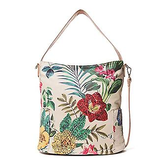 Desigual Bag Clio Yakarta Mini Women - White Women's Shoulder Bags (Raw) 16.5x31.5x33 cm (B x H T)