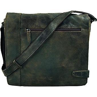 Pride and Soul 47157 - Jumper shoulder bag in real brown leather