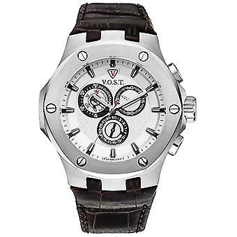 V.O.S.T. Germany V 100.005 Steel Chrono men's Watch 44mm