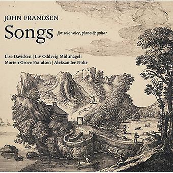 Frandsen, J. / Davidsen, Lise / Fajger, Orsi - John Frandsen: Songs [CD] USA import