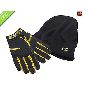 CLC Construction Flexigrip Hi-Dexterity Gloves & Beanie Hat