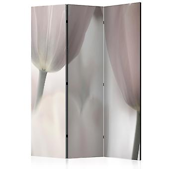 Vouwscherm - Tulips fine art - black and white [Room Dividers]