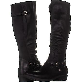 عارية الفخاخ يانيسا المرأة إصبع اللوز الركبة أزياء أحذية