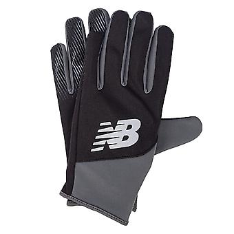Mens New Balance Team Player Gloves In Black - Perfect For Those Winter Training