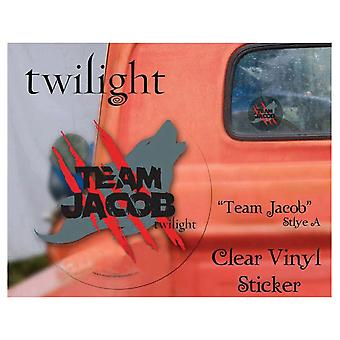 Twilight Sticker Clear Vinyl (Team Jacob)