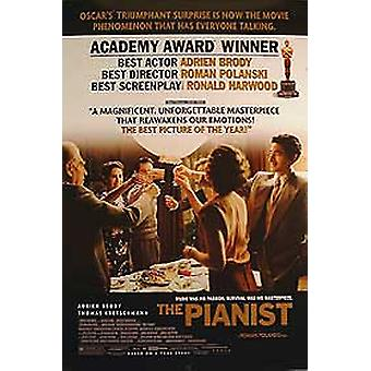 The Pianist (Double Sided Academy Awards) Original Cinema Poster (Double Sided Academy Awards)