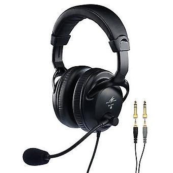 Monacor BH-009 Headset Microphone (vocais) incl. filtro pop