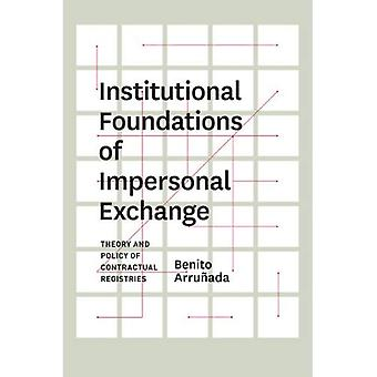 Institutionele fundamenten van onpersoonlijke uitwisseling