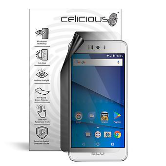 Celicious Privacy Lite 2-Way Anti-Glare Anti-Spy Filter Screen Protector Film Compatible with BLU R2 Plus