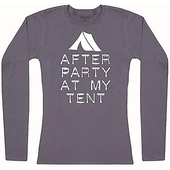 After Party in meinem Zelt - Womens Langarm T-Shirt
