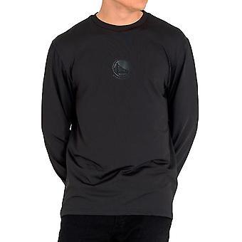 Neue Ära Mens NBA Golden State Warriors Team Langarm Rundhals T-Shirt Top