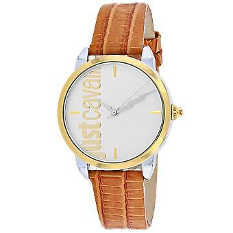 Just Cavalli Women's Tenue Silver Dial Watch - JC1L079L0025