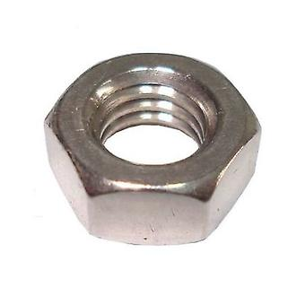 Unc Hexagon Full Nut 3/8 Inch -16  A4 Stainless Steel