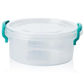 Hobby Life 0.6 Litre Round Multi Plastic Storage Box [rd Multi #1]