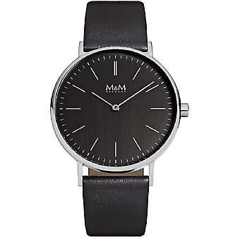 M & M Germany M11892-445 Basic 36 Ladies Watch