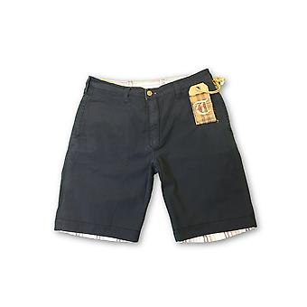 Tailor Vintage reversible shorts in navy