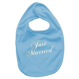 Newborn turquoise bib fun2232 just married