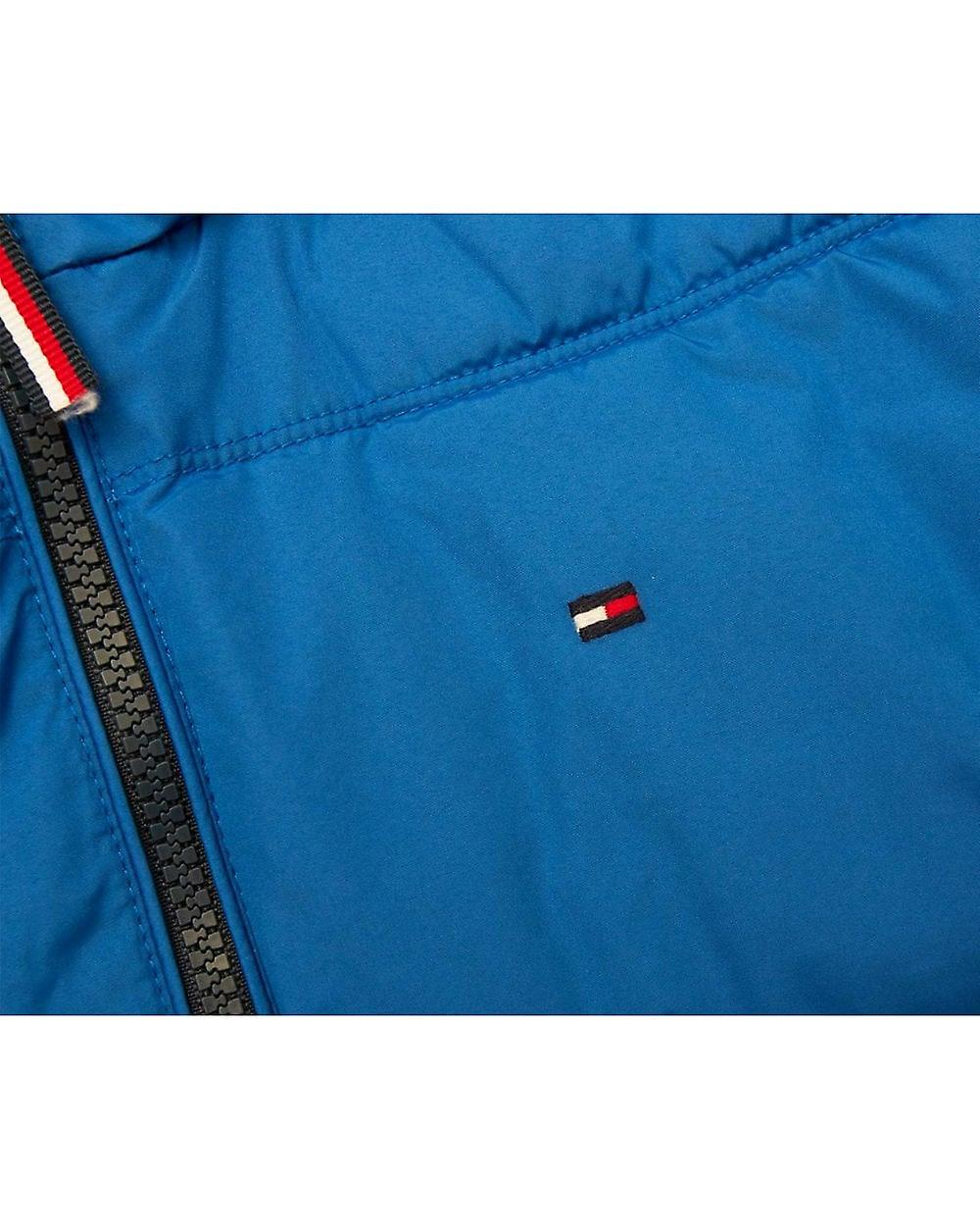 Tommy Hilfiger Striped Hooded Padded Jacket