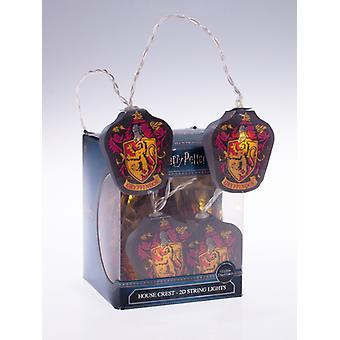 Lumières à cordes Harry Potter Gryffindor 2D LED