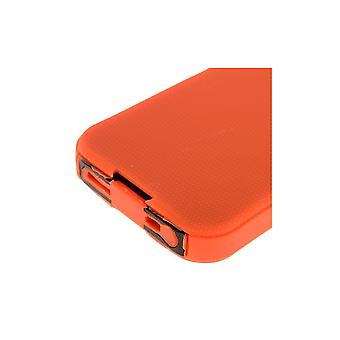 Orange Plastic Hull Ultra Resistant Logo Apparent For IPhone 5