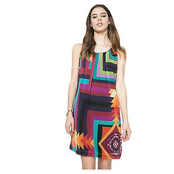Desigual Women's Alexandra Multicoloured Geometric Dress