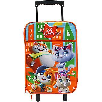 Mjuk resväska 44 katter