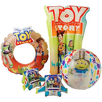 Disney Toy Story 3D Deluxe Swim Set Armpuffs, Simring etc.