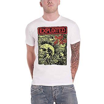 The Exploited T Shirt Punks Not Dead Skull Band Logo new Official Mens