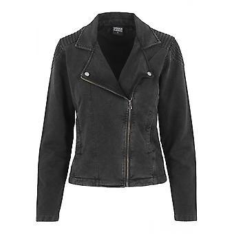 Urban klassikere damer syre vask Terry Biker jakke