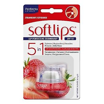 Softlips Cube Bálsamo Labial spf 15 Fresa Intensa 6.5g
