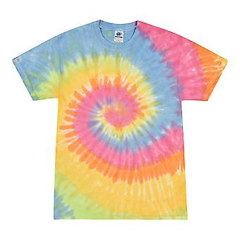 Colortone Kids/Childrens Rainbow Tie-Dye Heavyweight T-Shirt