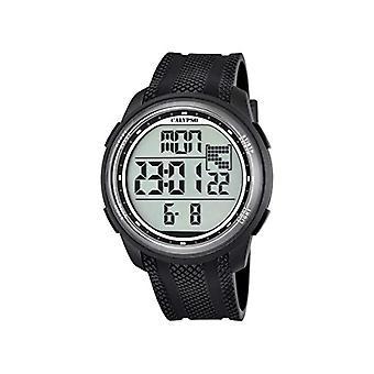Calypso K5704/8-Unisex horloge, kunststof, kleur: zwart