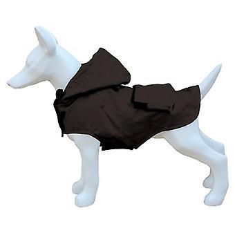 Freedog vattentät ficka svart hund (hund, hundkläder, regnrockar)