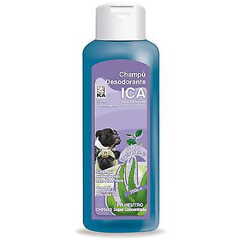 Ica Champú Desodorante 750Cc Aloe Vera (Perros , Higiene y peluquería , Champús)